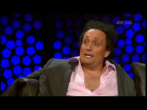 Mario Rosenstock as Marty Morrissey | The Late Late Show