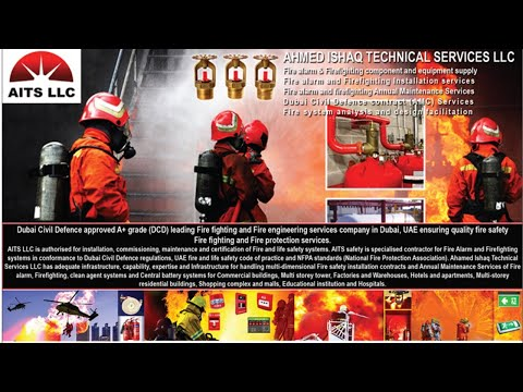 job in Dubai 257, job of Fire Fighting , Fire Alarm in Dubai