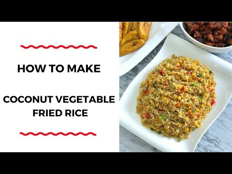 how-to-make-coconut-vegetable-fried-rice---rice-recipes---zeelicious-foods