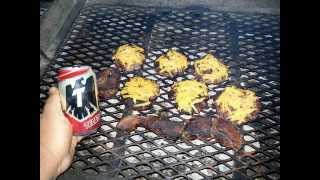 Jalapeno Venison Bacon Cheese Burgers & Steaks