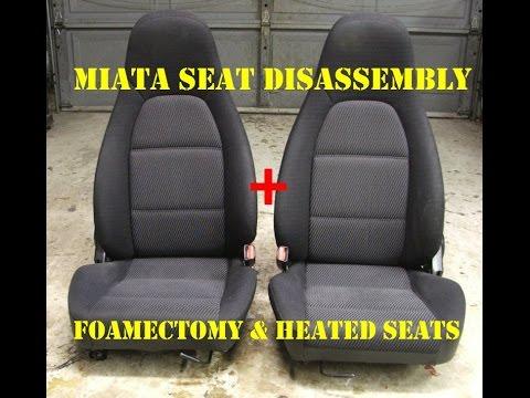 Mazda Miata Foamectomy Seat Heater Install