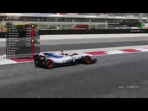 F1 2017 RRL SEASON 8 DRIVERS CHAMPIONSHIP ROUND 7 BAHRAIN