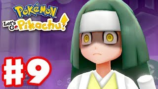 Pokemon Let's Go Pikachu and Eevee - Gameplay Walkthrough Part 9 - Pokemon Tower!