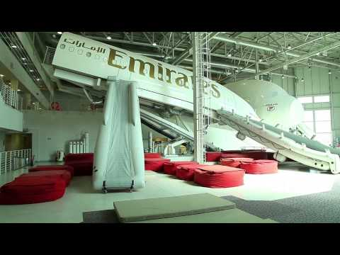 ICC Match Officials at Emirates Aviation College | Cricket | Emirates Airline