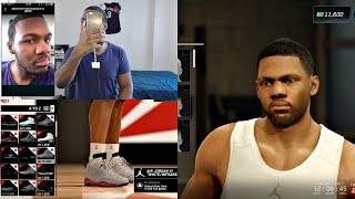 NBA Live 16 PS4 Gameplay  - DEADLIEST SMALL FORWARD CREATION! BEST FACE SCAN!!