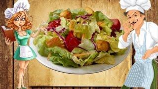Диетические блюда. Зеленый салат, витаминный. Низкокалорийные блюда, dieta.