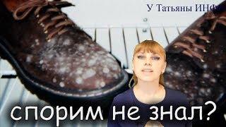 СПОРИМ НЕ ЗНАЛ? Как вывести плесень с обуви? Как стирать капроновые колготки?
