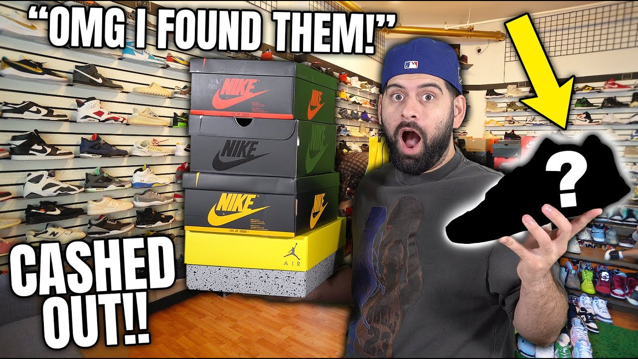Download OMG I FOUND THIS SNEAKER AFTER 10 YEARS AT SNEAK CITY!! (7 New Sneaker Picks in 1 Week)