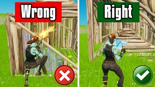 STOP Making These Common Mistakes! - Fortnite Tips & Tricks!