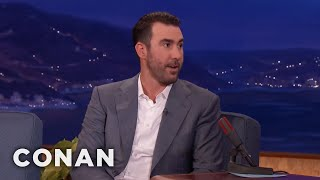 Justin Verlander Loved Giving Houston Something To Cheer For  - CONAN on TBS