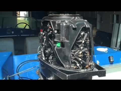 75HP Mercury Outboard YouTube