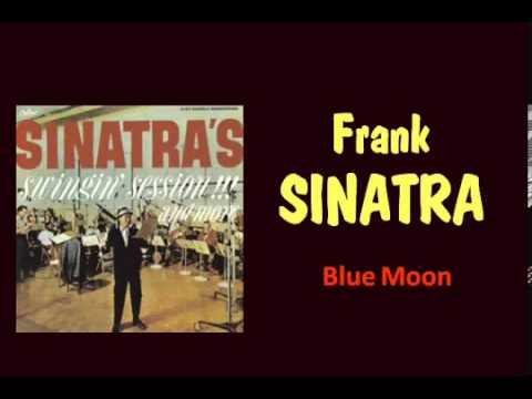 Blue Moon Frank Sinatra   with Lyrics)