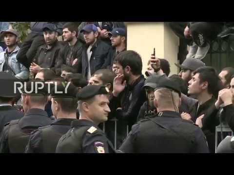 LIVE: Rohingya Muslim solidarity rally at Myanmar Embassy in Moscow
