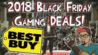 Best Buy 2018 Black Friday Gaming Deals! Better Than Target!