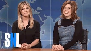 Rachel Green (Vanessa Bayer) explains why people are still so nostalgic for the '90s. Guest appearance by Jennifer Aniston. Subscribe to SNL: ...
