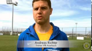 """VfB.tv: Andreas Richter: """"Ein ordentlicher Test"""""""