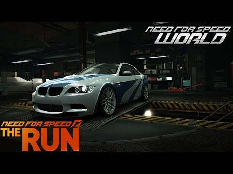 Need For Speed World Most Wanted BMW M3 GTS (NFS The Run Bonus car)