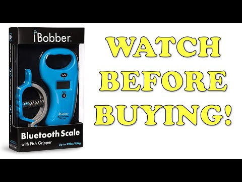 IBobber Bluetooth Scale & Fish Gripper - Fishing Tackle Review & Unboxing