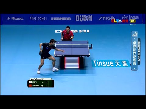 2015 World Team Cup MT-SF1: CHINA Vs CHINESE TAIPEI [HD] [Full Match|Chinese]