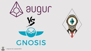 Gnosis vs Augur comparison (REP tokens, GNO tokens)