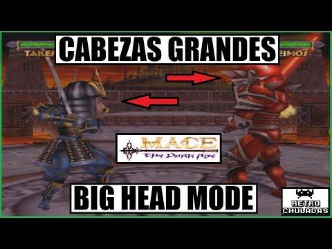 Mace The Dark Age - Como activar cabezas grandes -Truco Arcade/Cheat - How to activate big head mode