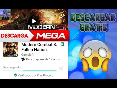 Como descargar modern combat 3 android gratis