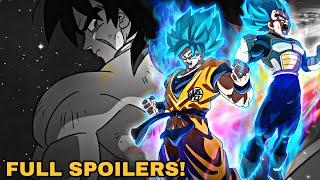 Dragon Ball Super Broly - FULL MOVIE SPOILERS!