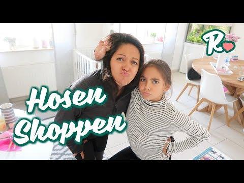 Mit Joana Hosen Shoppen - Kleiderschränke aussortieren für 3 Kinder -   Vlog848 Rosislife