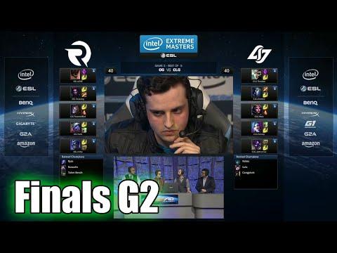 CLG vs Origen   Game 2 Grand Finals IEM San Jose LOL 2015   Origen vs CLG IEM   CLG vs OG G2