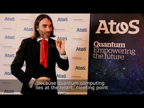"""Interview - Cédric Villani, Field Medal, at the launch of """"Atos Quantum"""""""