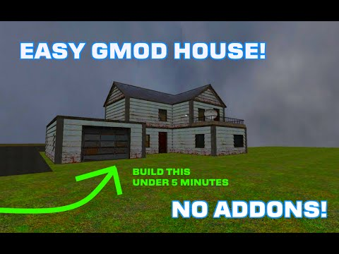 How To Build A Nice House In Gmod Tutorial Part 1 56