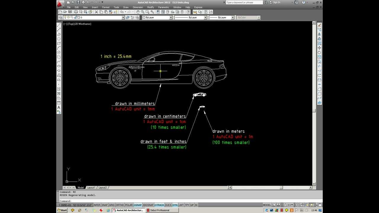 Autocad converting metric decimal drawings to imperial youtube biocorpaavc