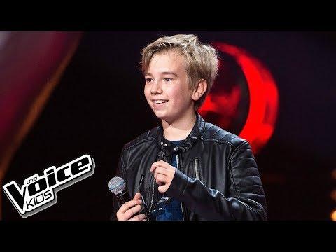 """Sebastian Radzimski - """"Highway To Hell"""" - Przesłuchania W Ciemno - The Voice Kids 2 Poland"""