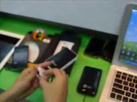 iPad portable battery extender, 6000mAh power bank