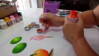Copo de leite fácil – Pintura em tecido