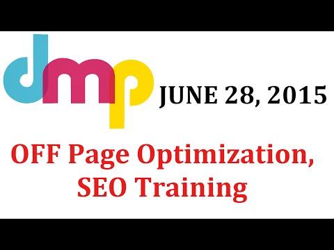 June 28th 2015 - OFF Page Optimization - Learn SEO from Digital Marketing Paathshala , SEO Training
