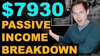 Passive Income 2019: How I now earn $7930 per month passively