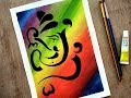 #Ganesha #Ganeshadrawing Ganesha Painting with Watercolor - Paint with David