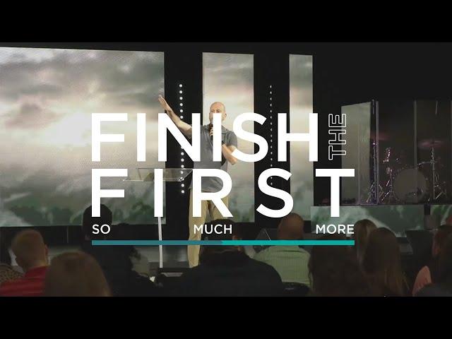 Finish the First Sunday   Jon Dupin