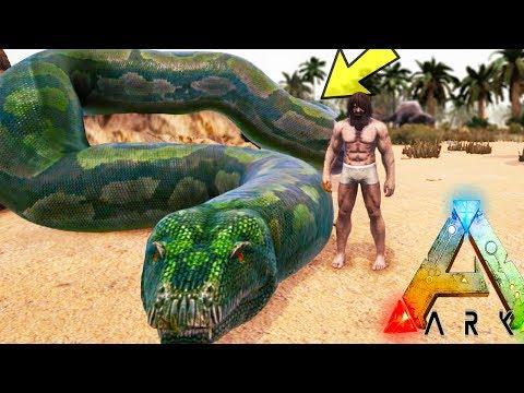 ARK: Annunaki - FINALLY TAMING THE GOD SNAKE! WORST FAIL EVER BRO (31) - Ark Survival Evolved