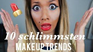 Die  10 schlimmsten Make-up Trends I Paola Maria