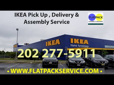 IKEA Pick up Delivery & Assembly in Washington DC by Flatpack Assembly 240 603-2781