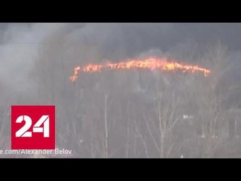 При тушении пожара в перчаточном цехе в Иванове пропали двое пожарных