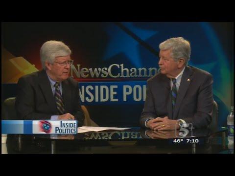 Inside Politics: Lt. Governor Randy McNally P.2