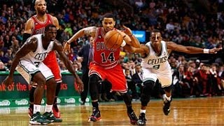 DJ Augustin Scores a Career-High 33 Points in Win Over Celtics