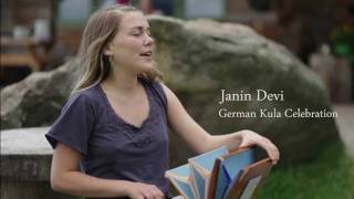 Janin Devi at the German Kula Celebration