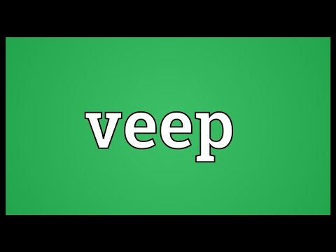 Veep Meaning