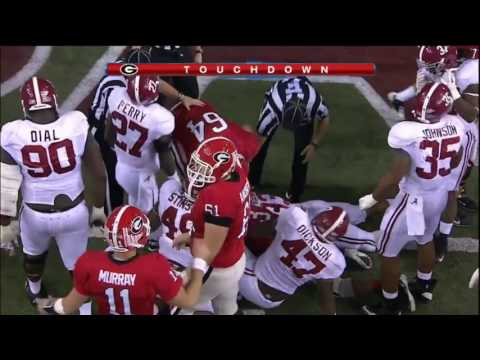 2012 SEC Championship Game - #2 Alabama vs. #3 Georgia Highlights