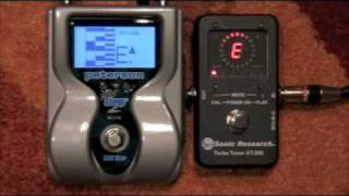 Strobo Stomp II VS Turbo Tuner ST-200