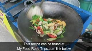 Thai Squid and Vegetables - Stir Fry - Thai Recipes